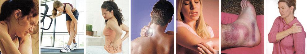 我們專長處理以下痛症、脊椎病及運動創傷:腰頸背痛,坐骨神經痛,椎間盤突出,兒童脊骨姿勢不良,寒背,脊椎側彎,骨刺,頸椎性頭痛,膝痛、十字韌帶創傷,肩周炎,網球肘,腕管綜合症,骨科手術後頑固痛症,筋膜炎,筋骨扭傷,關節勞損 、關節退化等…